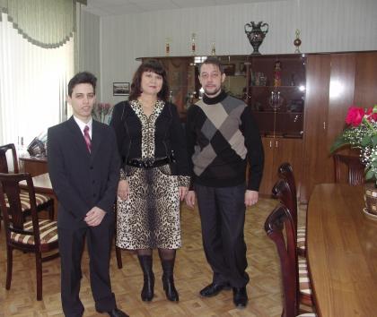 В Городской Думе - с депутатом и спикером